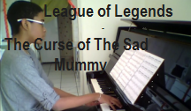 video piano The curse of the sad mummy