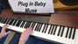 video piano Muse Plug In Baby