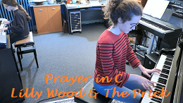 video piano Lilly Wood & The Prick Prayer in C