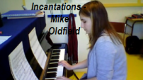 video piano Mike Oldfield