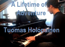 video piano A lifetime of adventure Tuomas Holopainen