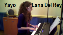 video piano Yayo Lana Del Rey