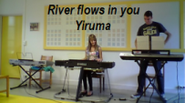 video piano clavier Yiruma